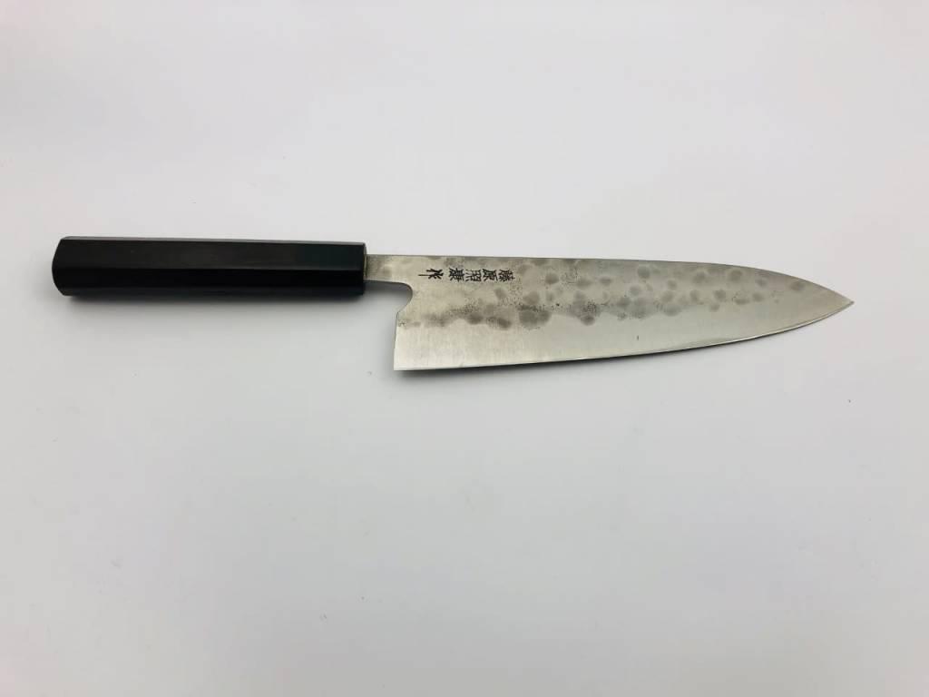 Fujiwara Maboroshi Gyuto 195 mm Rosewood WA handle