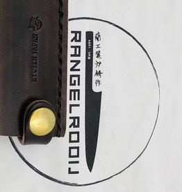 Takayuki Leather LS-204 175 mm santoku Brown