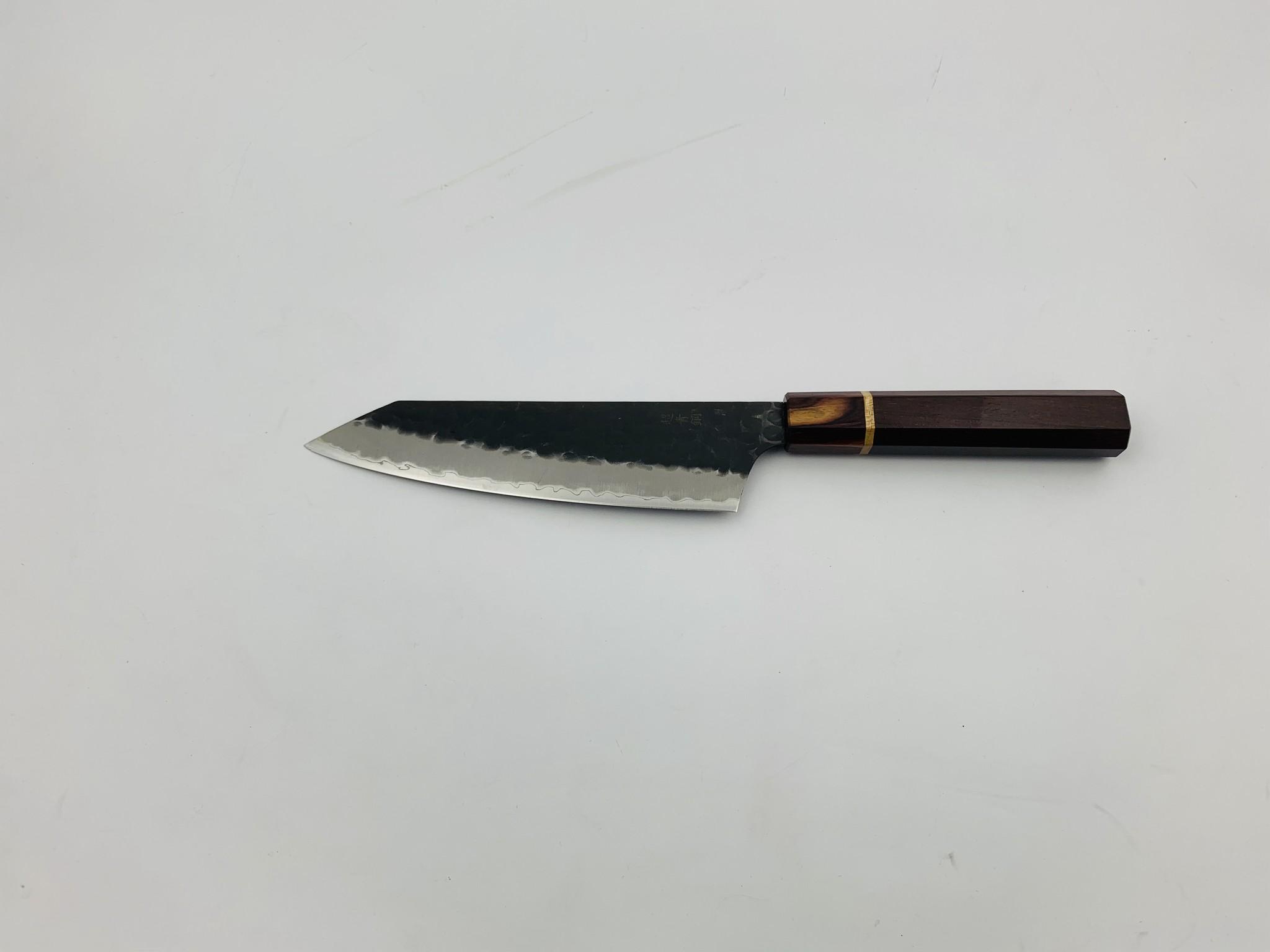 Takayuki 3 Layers Hammered Kengata 160 mm Custom Handle VOC