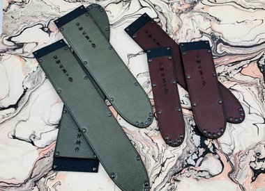 Leather knifeguards
