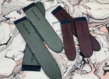 Leather sayas