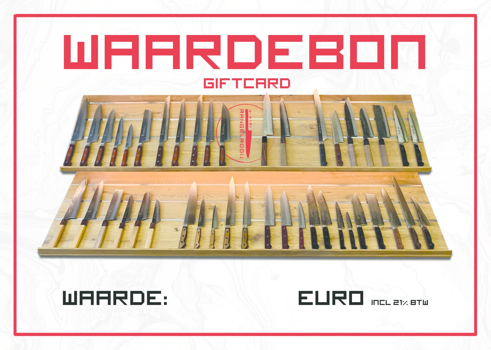 Giftcard 125 euros