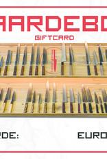 Giftcard 25 euros