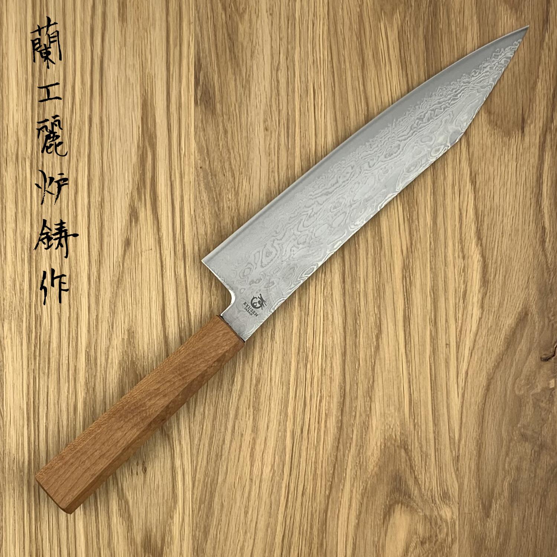 RYUSEN FUKAKURYU Maple WA Gyuto 210 mm FK-302