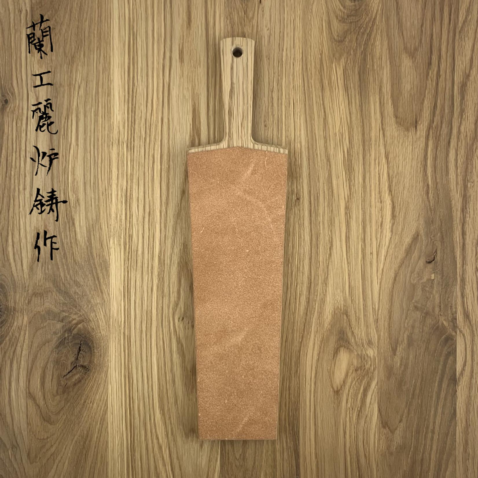 Blenheim leather stropping block 250 mm