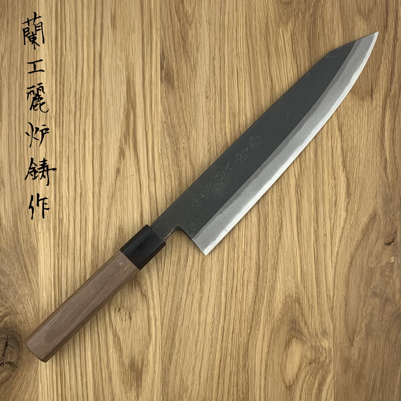 Kikuichi Kurouchi Gyuto Kiritsuke 240mm