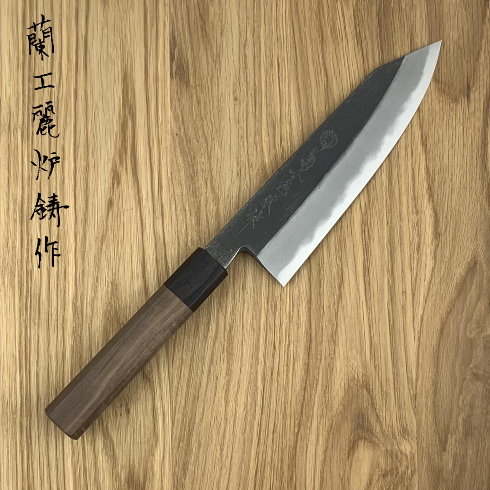 KIKUICHI Kurouchi Santoku Kiritsuke 180 mm