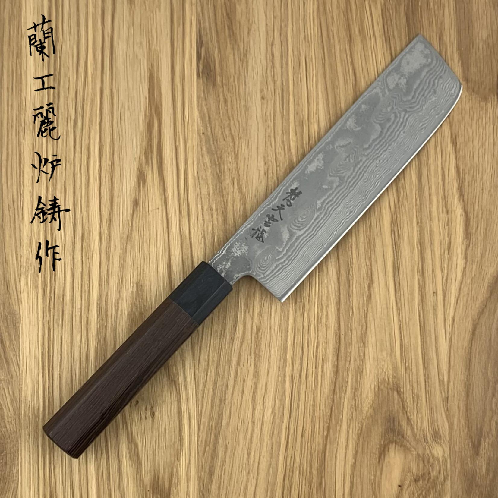 RYUSEN Bonten  Unryu WA handle nakiri 180 mm BU-308