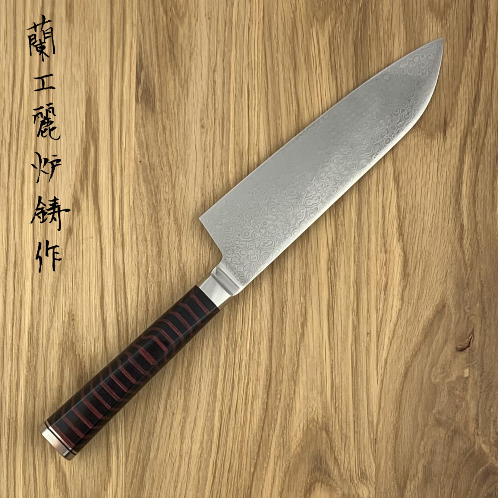 RYUSEN HOUENRYU santoku 170 mm  HE-203