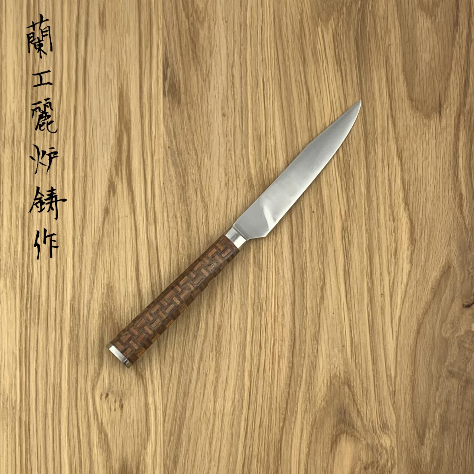 RYUSEN Steakknife SK06 Yosegi wooden floor