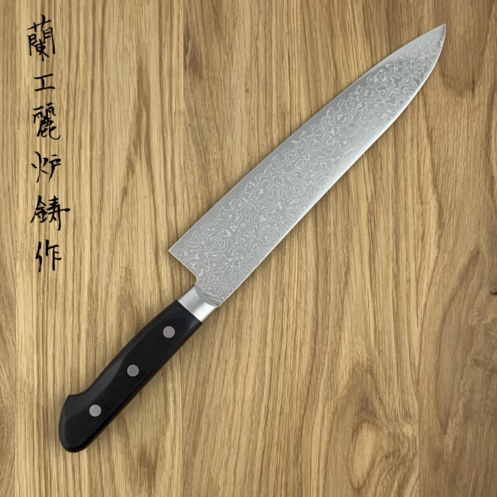 SAKAI TAKAYUKI Mirror 45 laags Gyuto 210 mm 07425