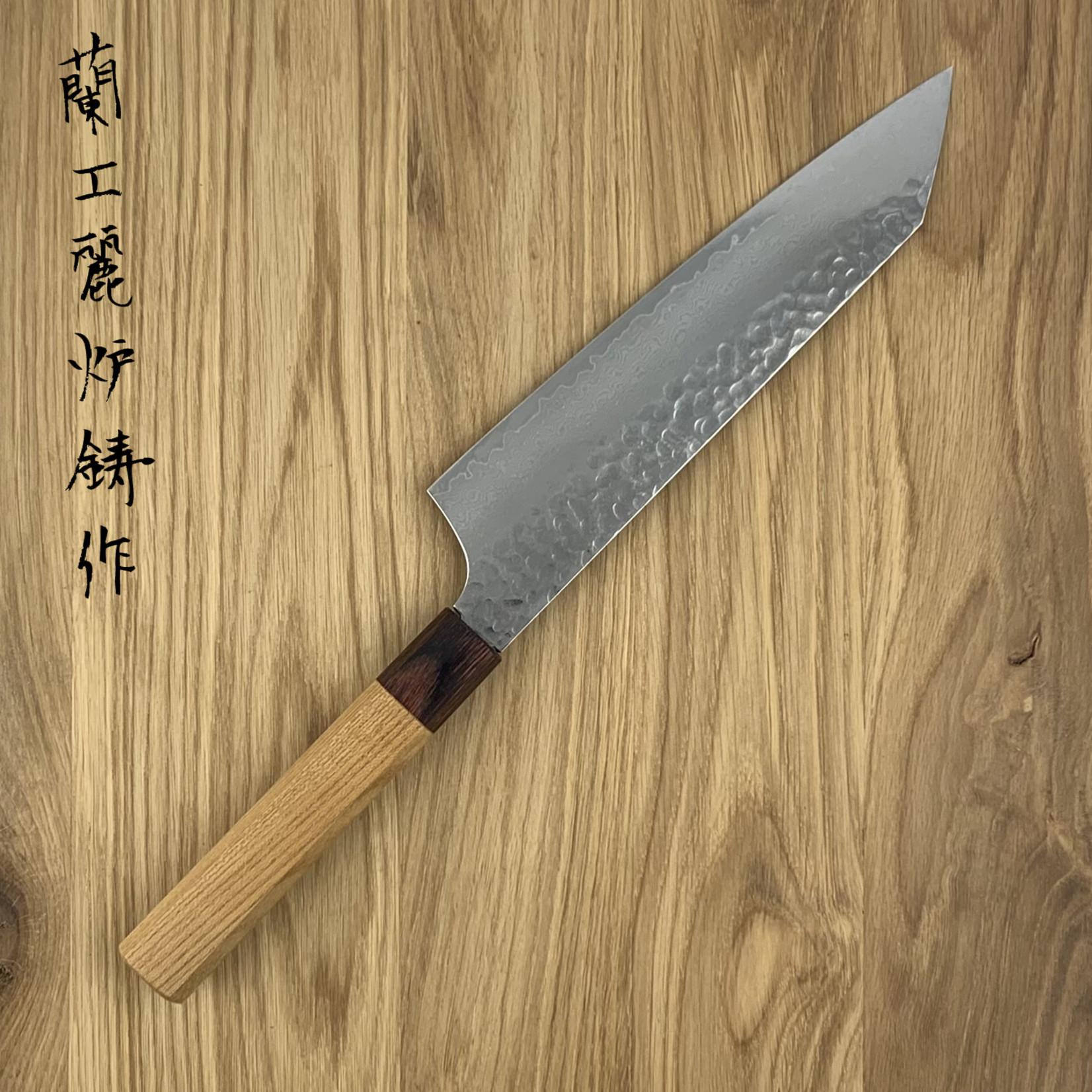 SAKAI TAKAYUKI 33 layers hammered Kengata 190 mm Zelkova Japanese Handle 07480