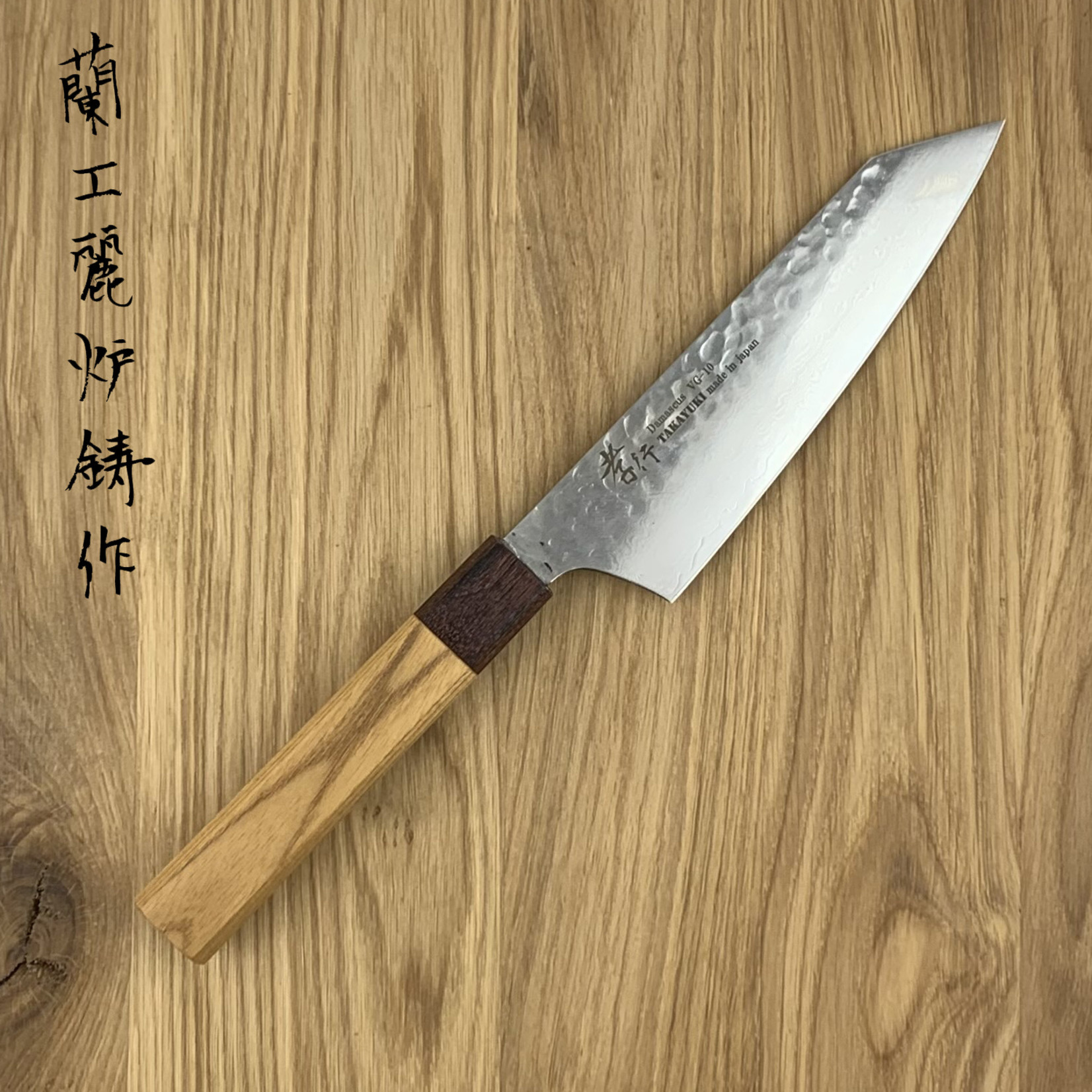 SAKAI TAKAYUKI 33 layers hammered Kengata 160 mm Zelkova Japanese handle  07479