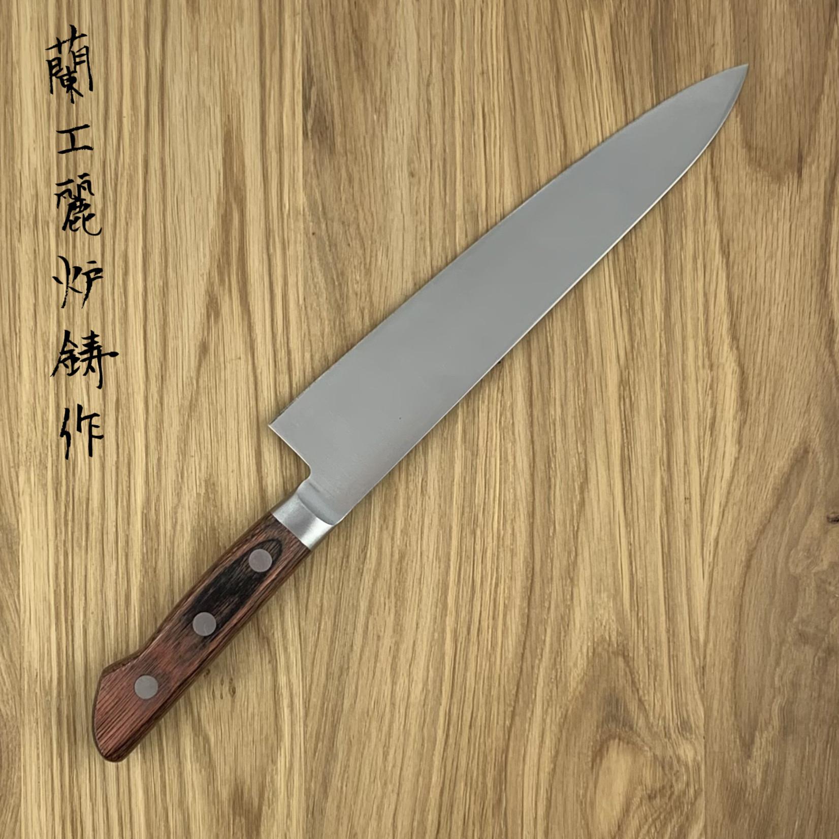 SAKAI TAKAYUKI honyaki Blue #2 gyuto 210 mm western handle 13012