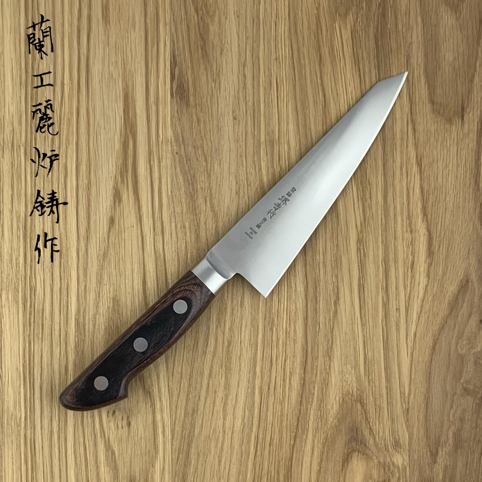 SAKAI TAKAYUKI honesuki Honyaki Blue #2 150 mm western handle 13041