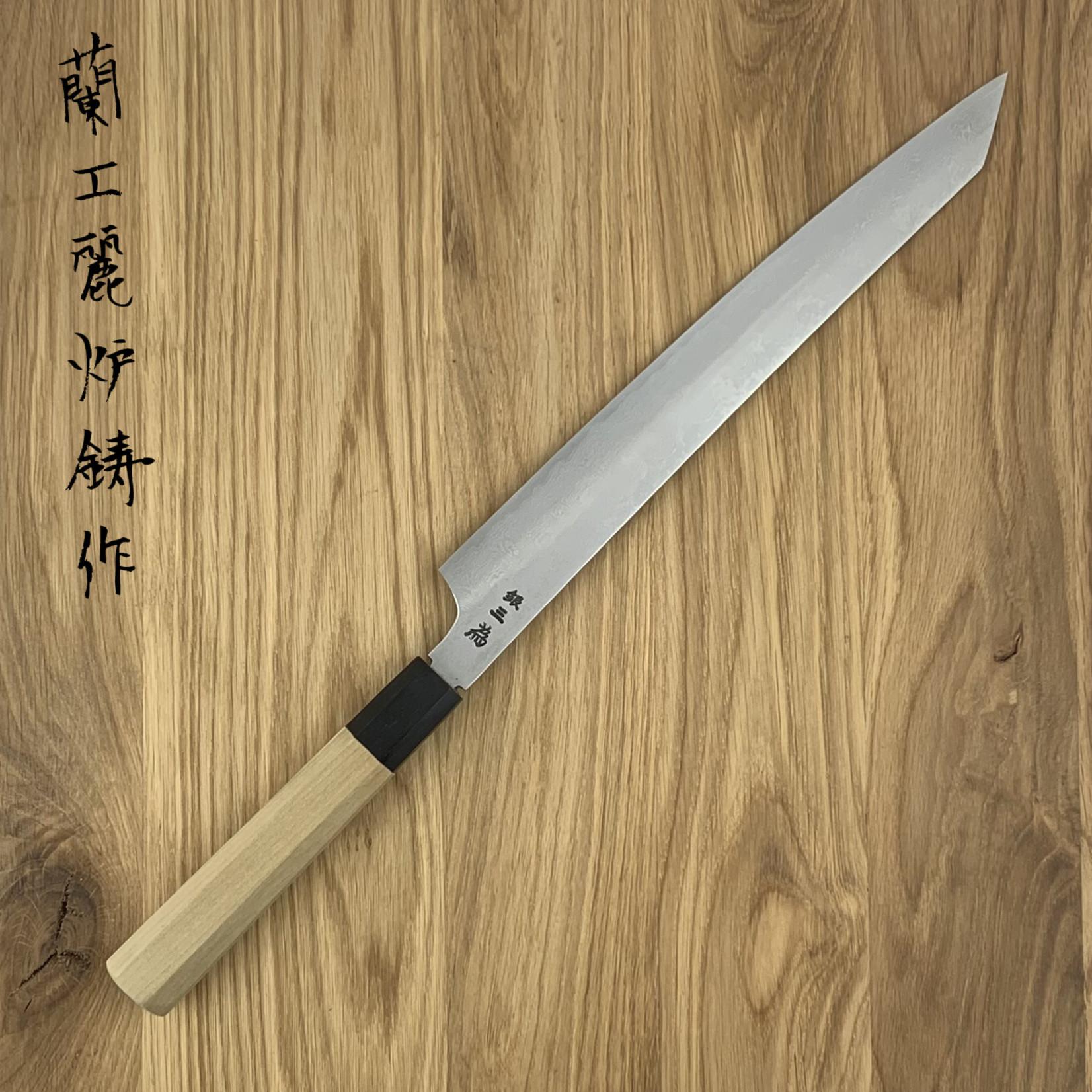 SAKAI TAKAYUKI 33 layers Gin san #3 Kengata 270 mm 14134