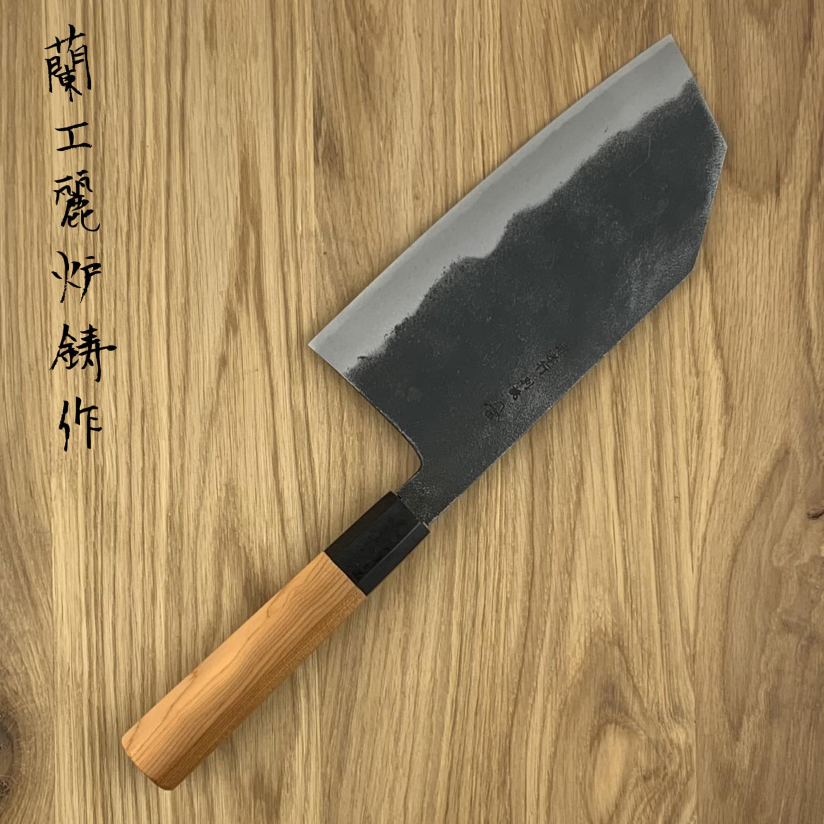 SAKAI TAKAYUKI Tokujou White #2 bunka high kurouchi 180 mm 03200
