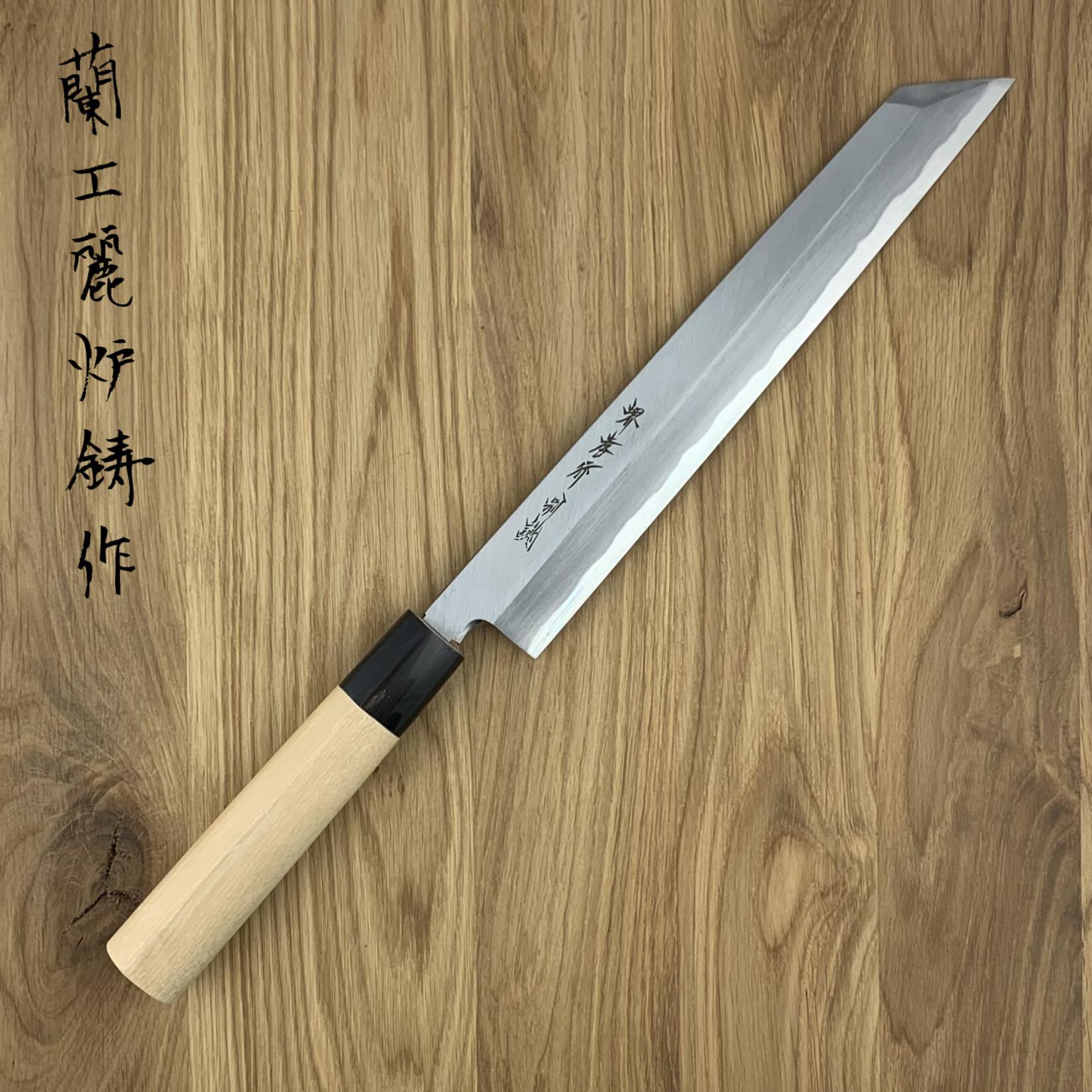 SAKAI TAKAYUKI Tokujou White #2 Magnolia Heft Kiritsuke 240 mm 03153