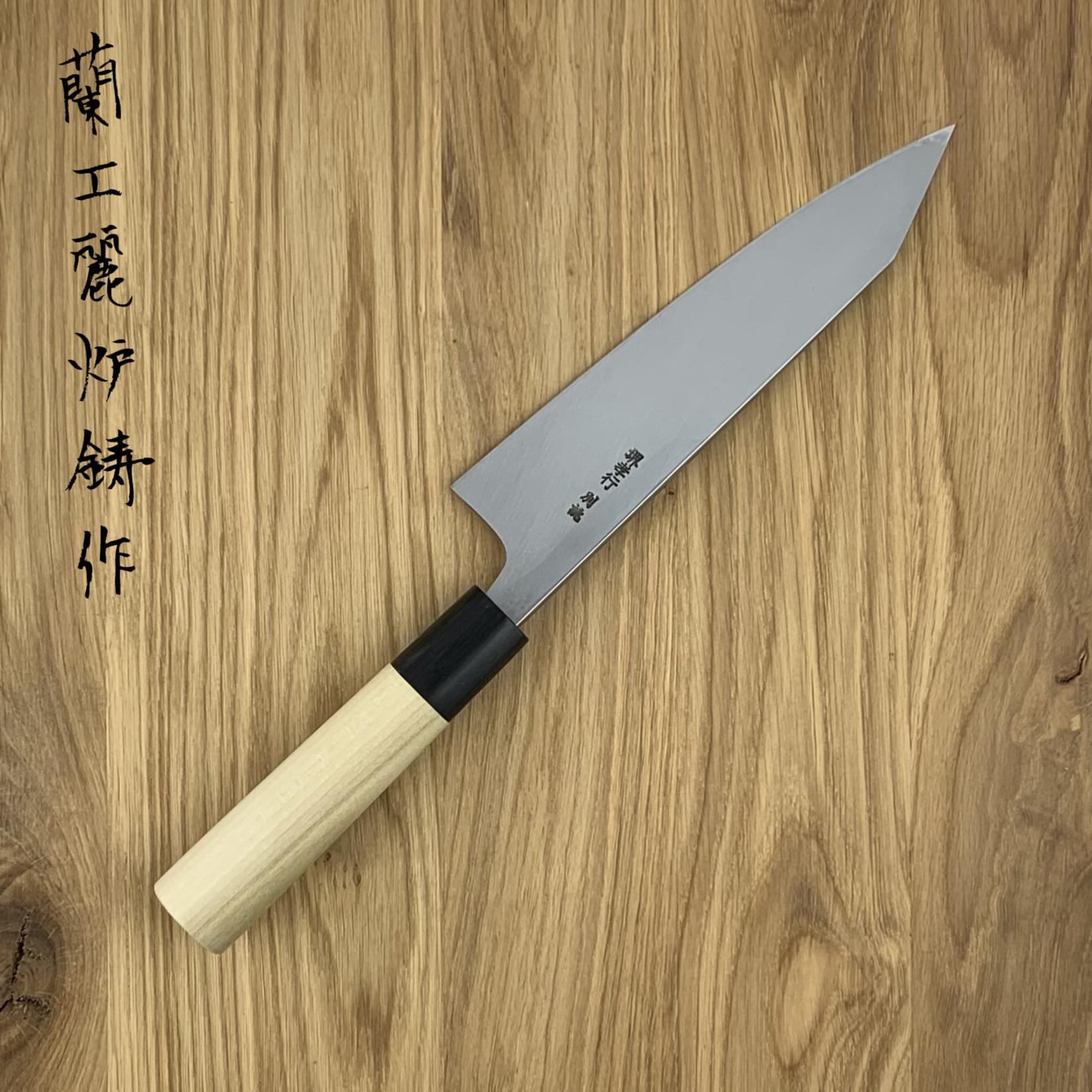 SAKAI TAKAYUKI Kiri Deba Tokujou White #2 Magnolia 180 mm 03196