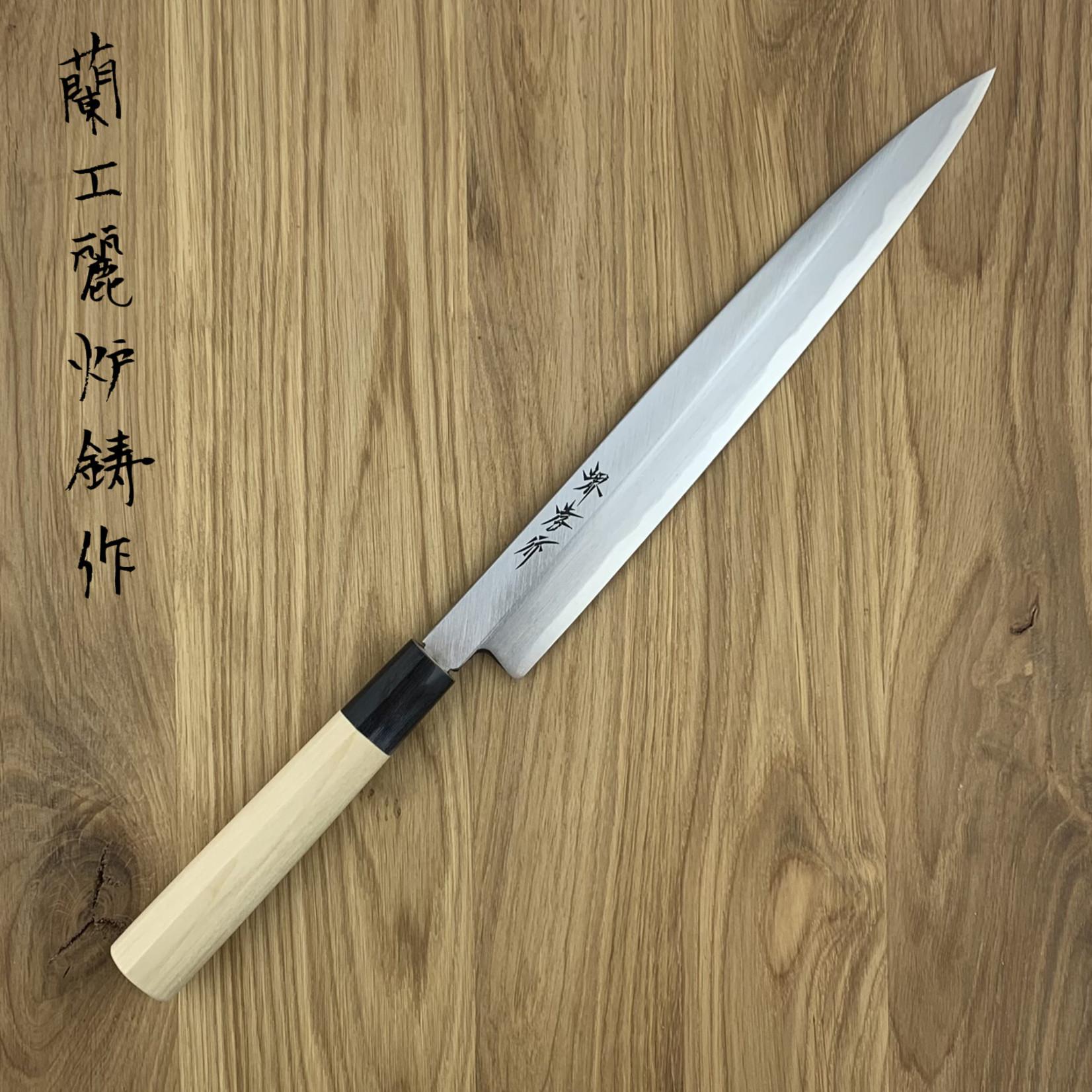 SAKAI TAKAYUKI Kasumi Suigyu White #3 Magnolia Heft Yanagiba 270 mm 06304