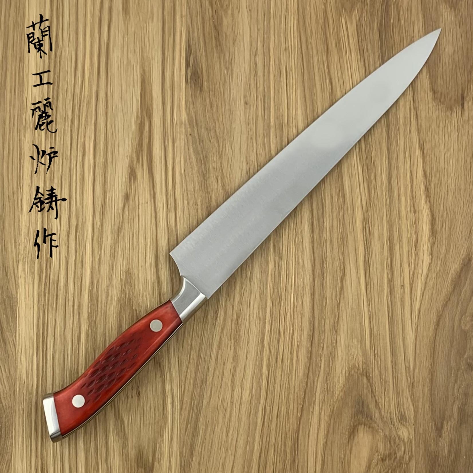 NENOHI NENOX Premium Rood Sujihiki 230 mm