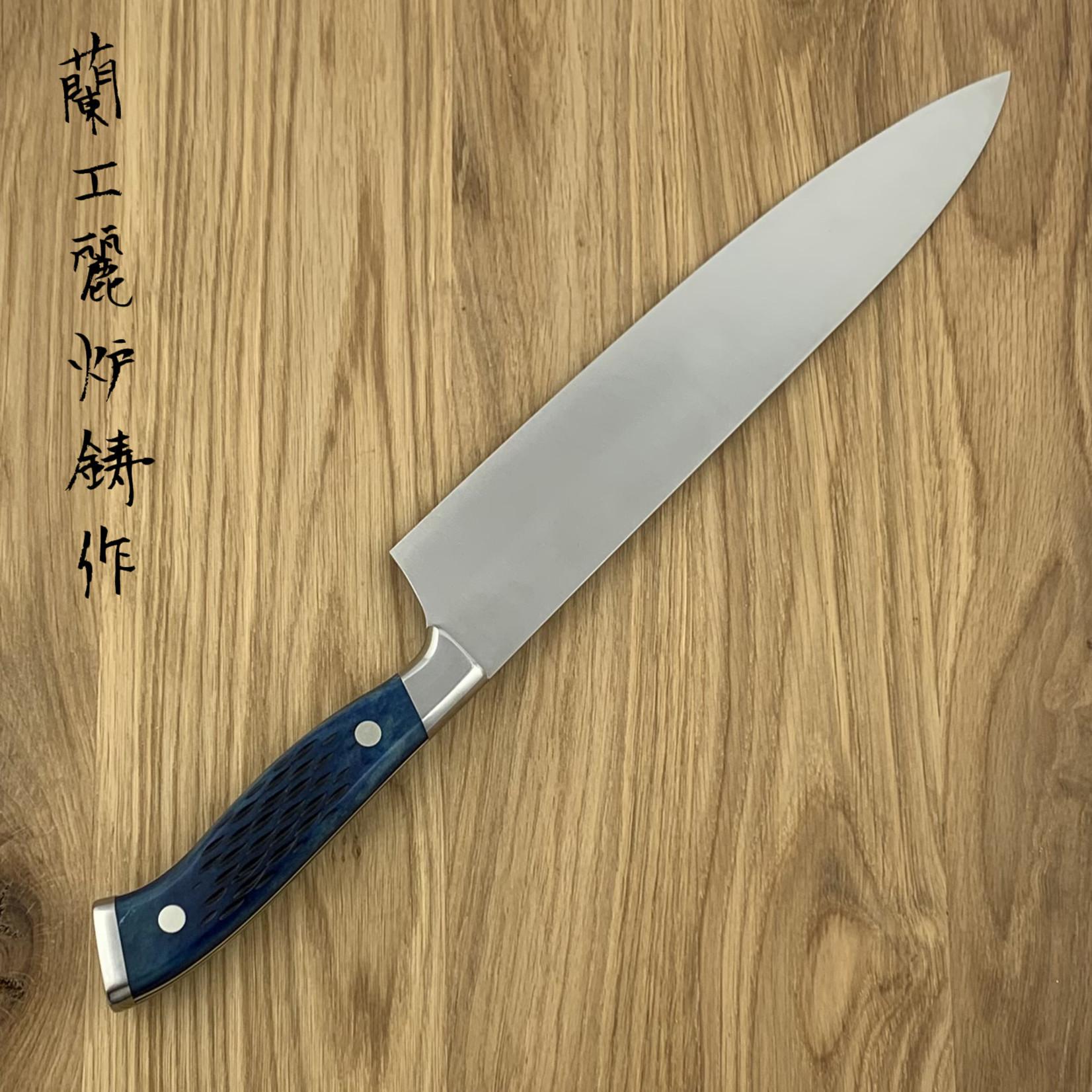 NENOHI NENOX Premium blue gyuto 240 mm