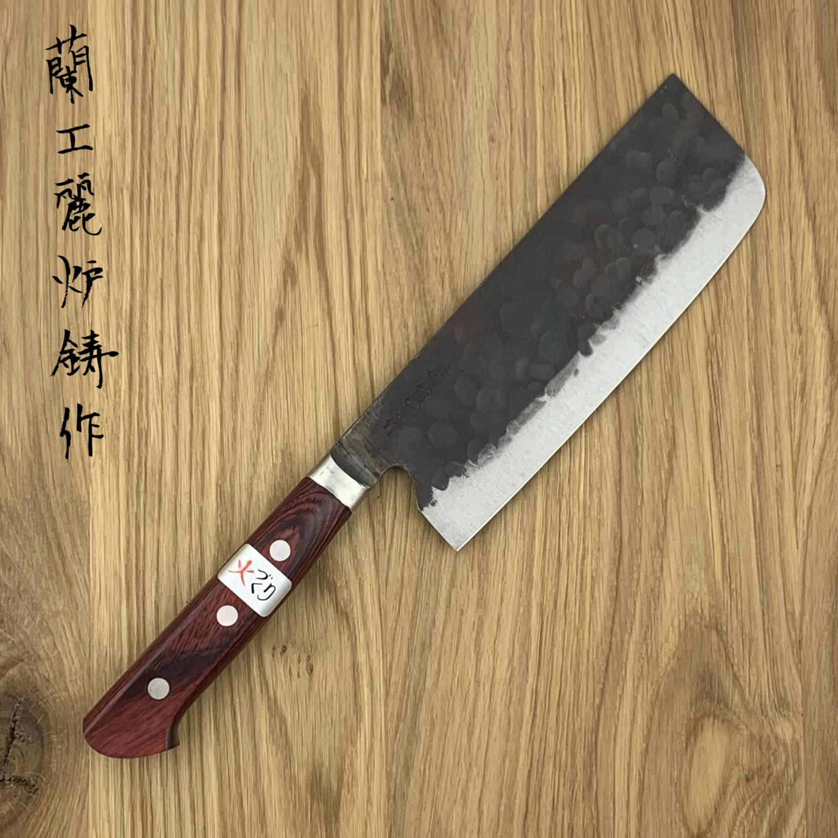 FUJIWARA TERUYASU Denka Red Nakiri 165 mm