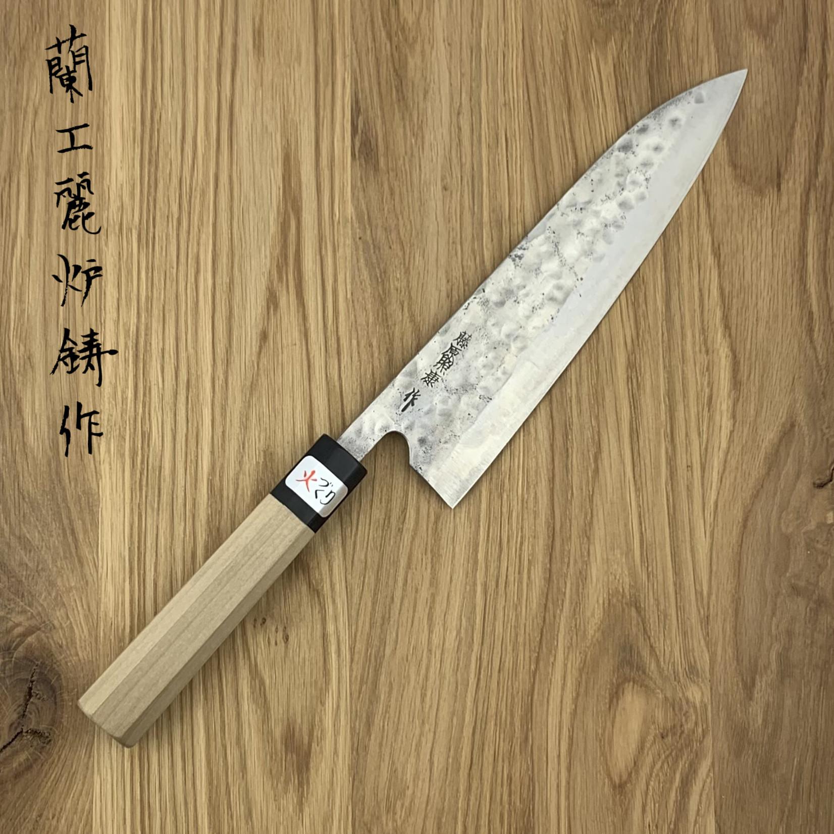 FUJIWARA Maboroshi Gyuto 195 mm Magnolia WA handle
