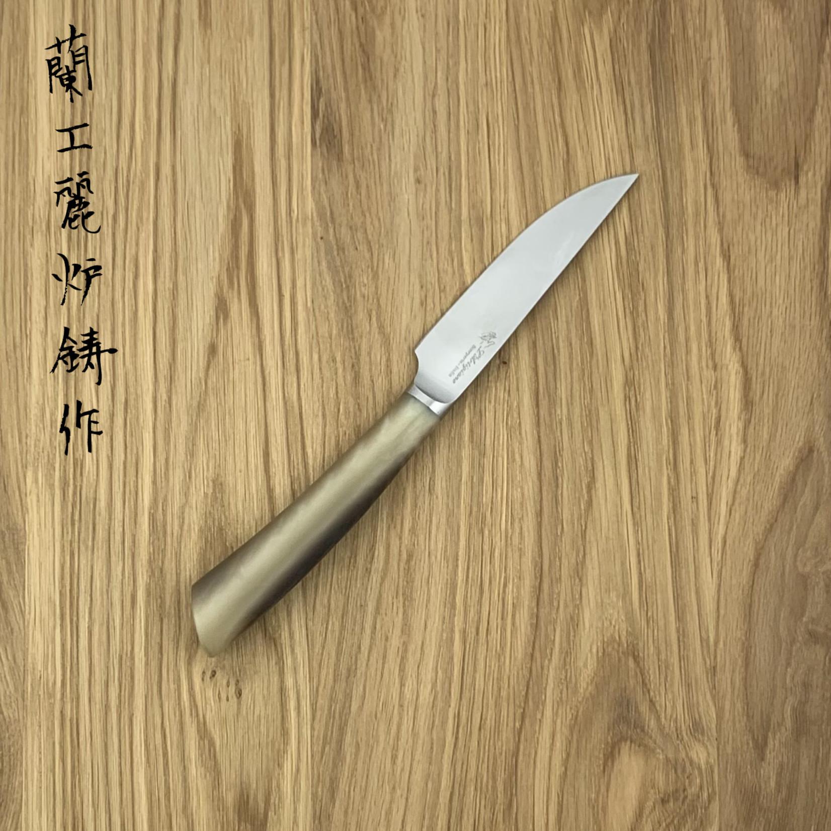 L'ARTIGIANO SCARPERIA Rustico steak knife imitation horn