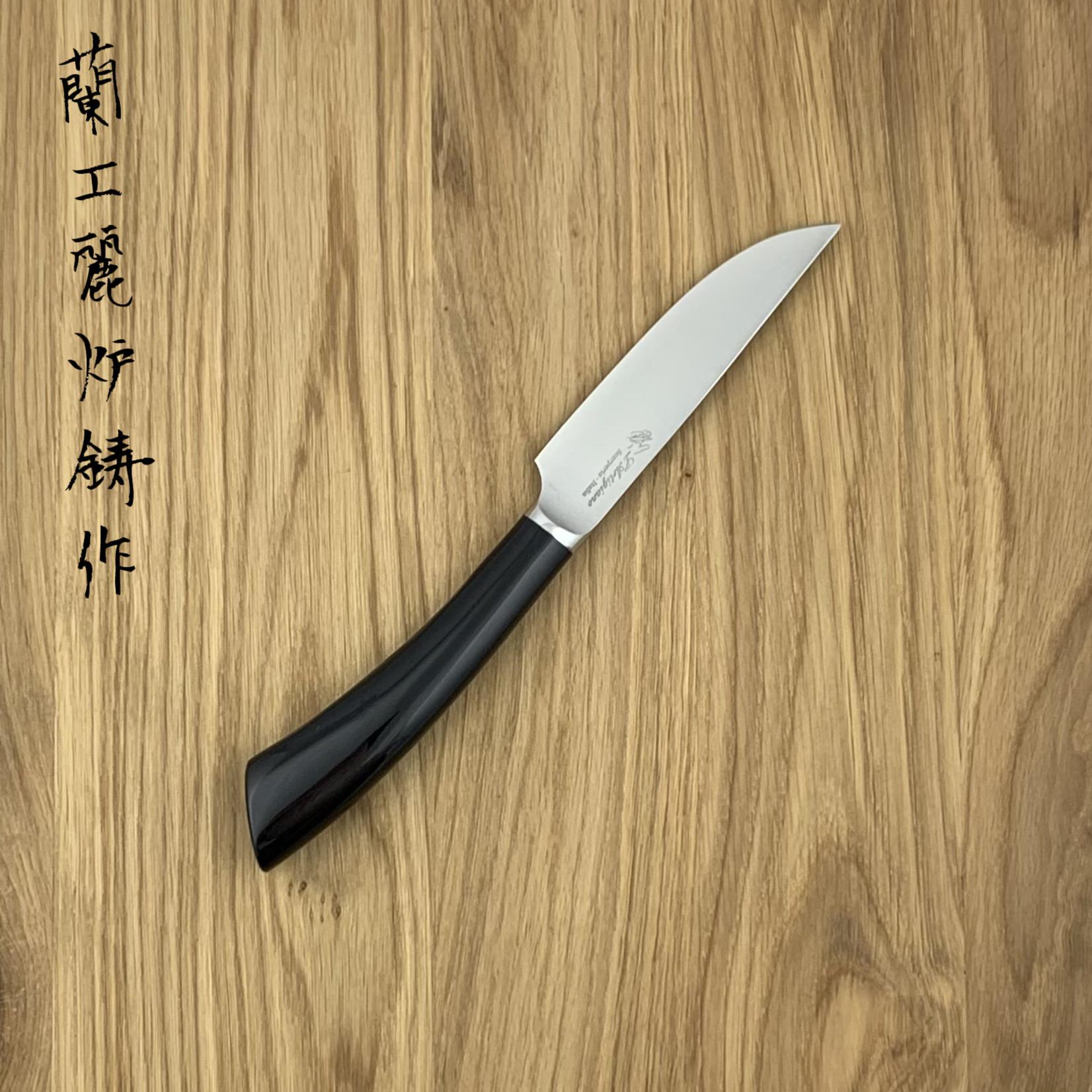L'ARTIGIANO SCARPERIA Rustico steak knife plastic black