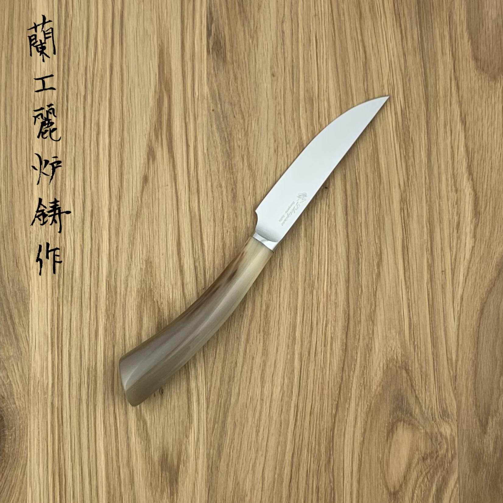 L'ARTIGIANO SCARPERIA Rustico steak knife horn