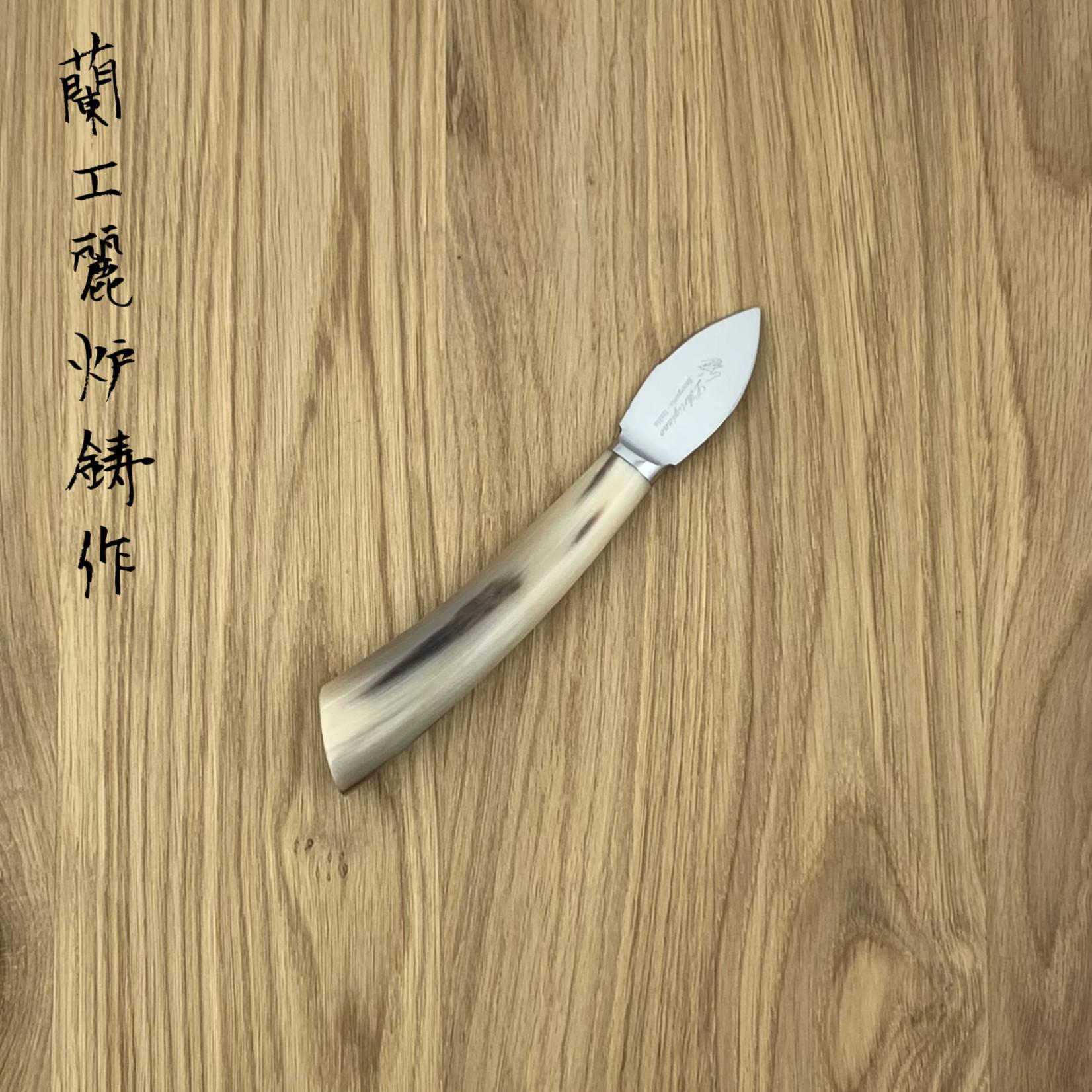 L'ARTIGIANO SCARPERIA Cheese knife Parmesan horn