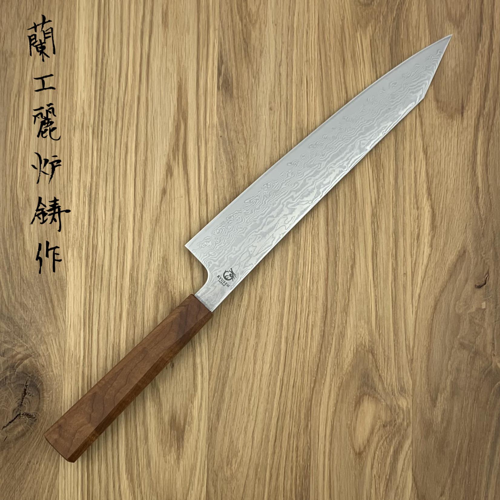 RYUSEN Fukakuryu Maple WA Gyuto 240mm FK-301