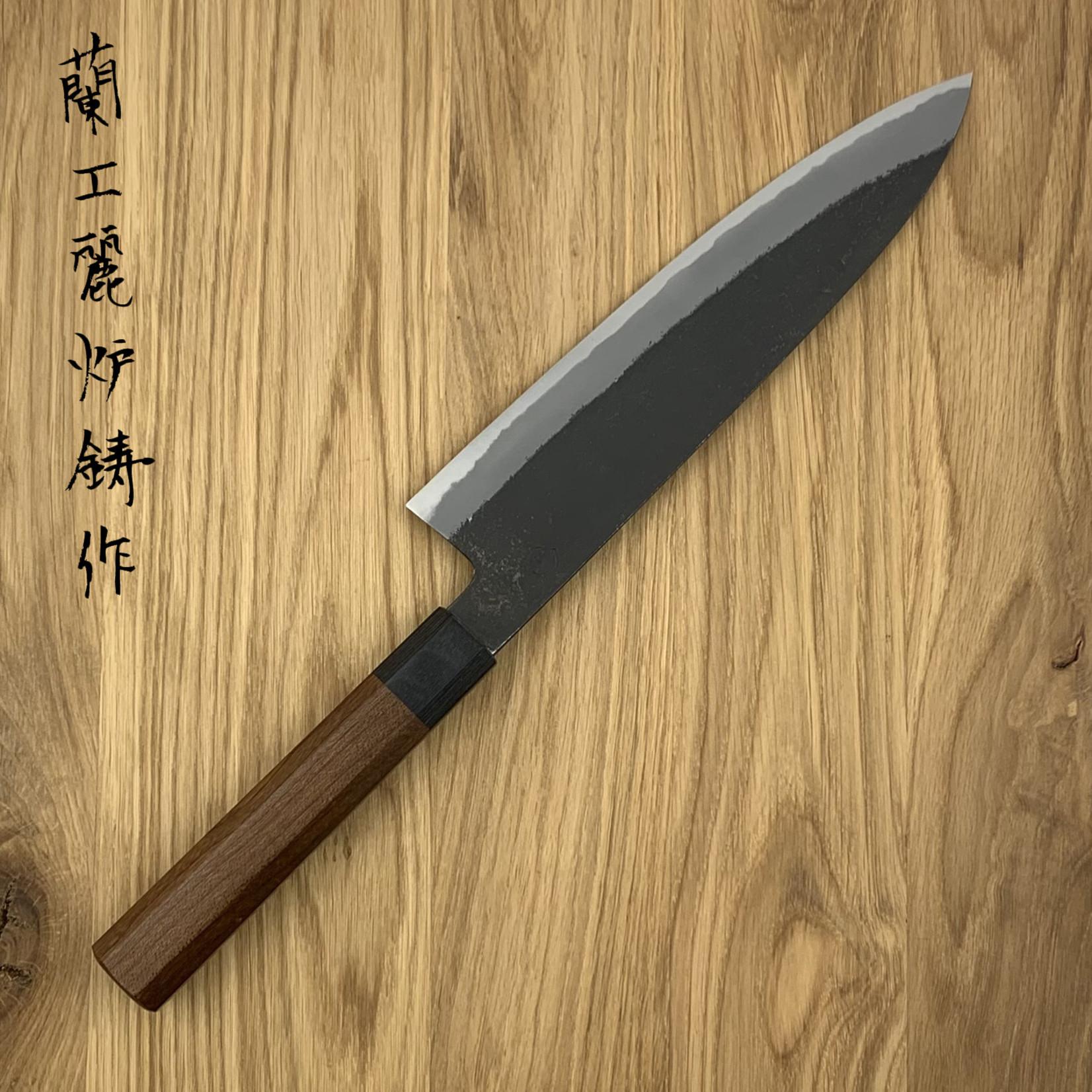 OUL Gyuto 210 mm kurouichi nashiji white #2 wa esdoorn