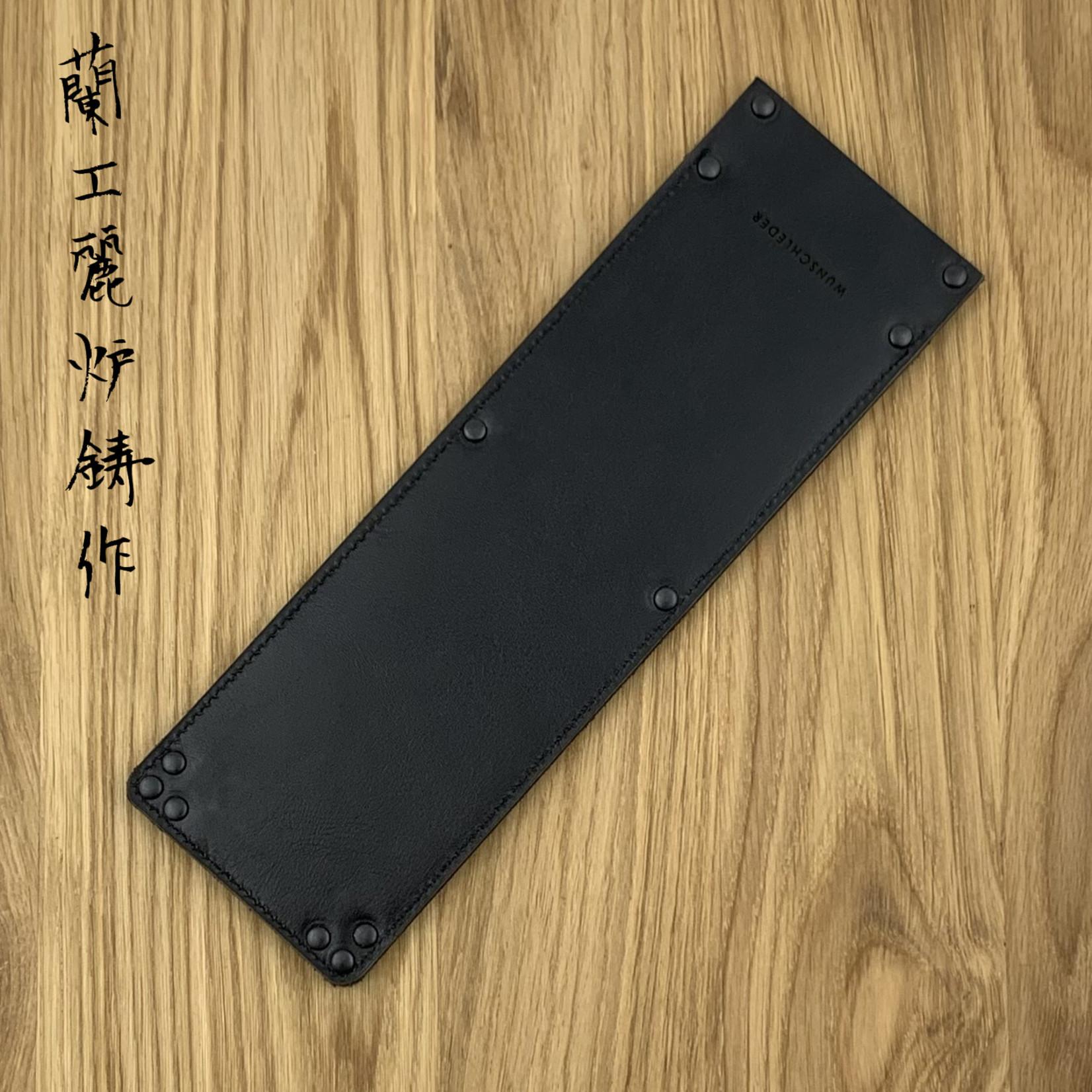 WUNSCHLEDER Saya Nakiri large 220 mm zwart 3