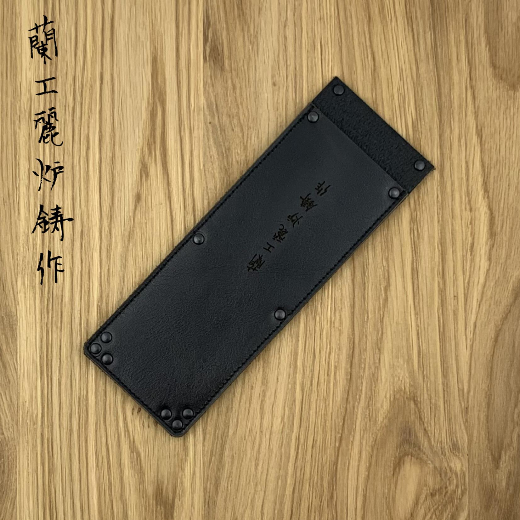 WUNSCHLEDER Saya Nakiri medium 180 mm black 1