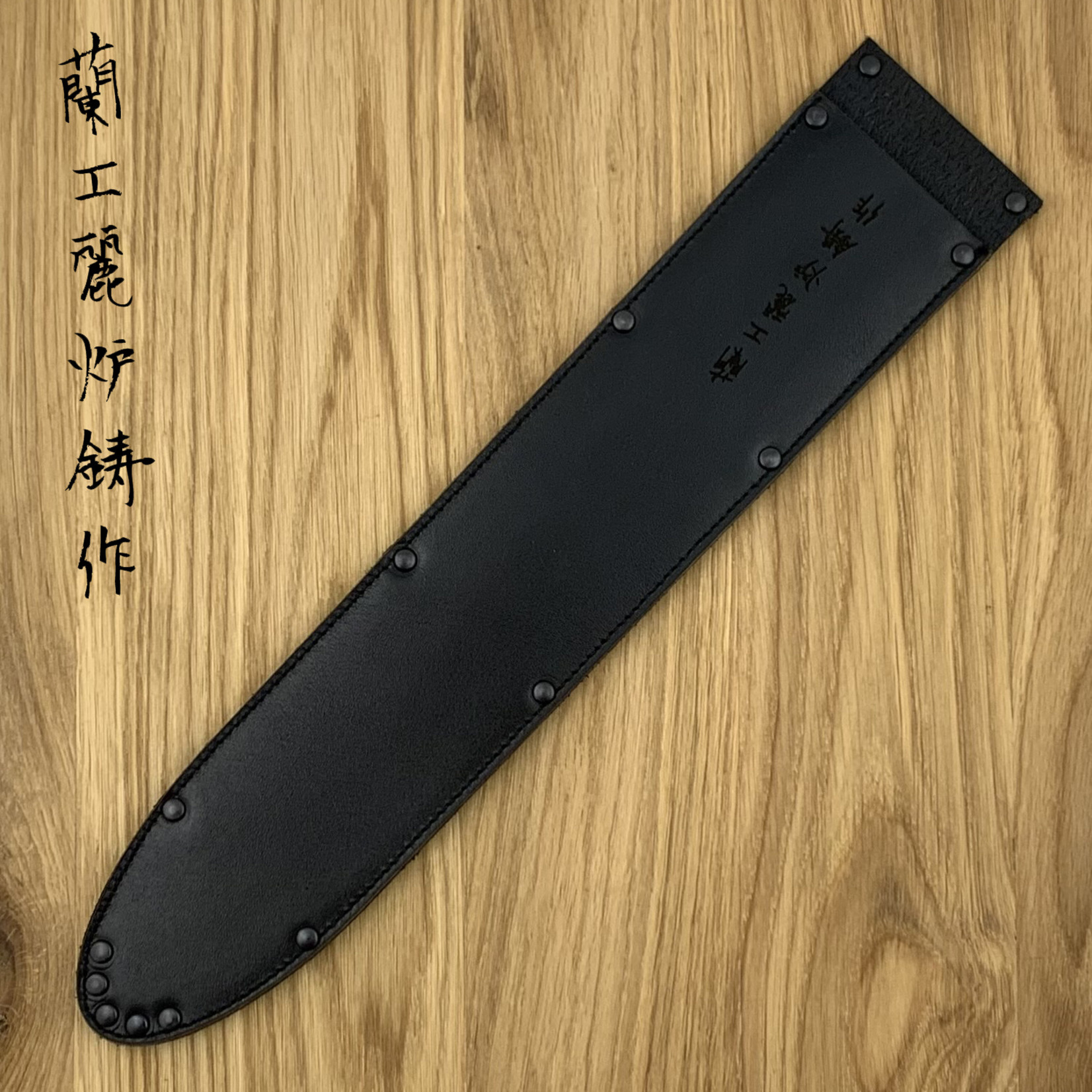 WUNSCHLEDER Saya Sujihiki wide 300 mm black