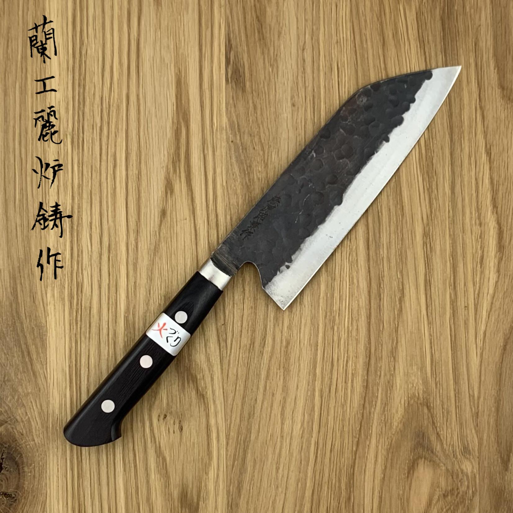 FUJIWARA TERUYASU Denka Santoku 165 mm