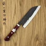 Santoku 165 mm Denka rood