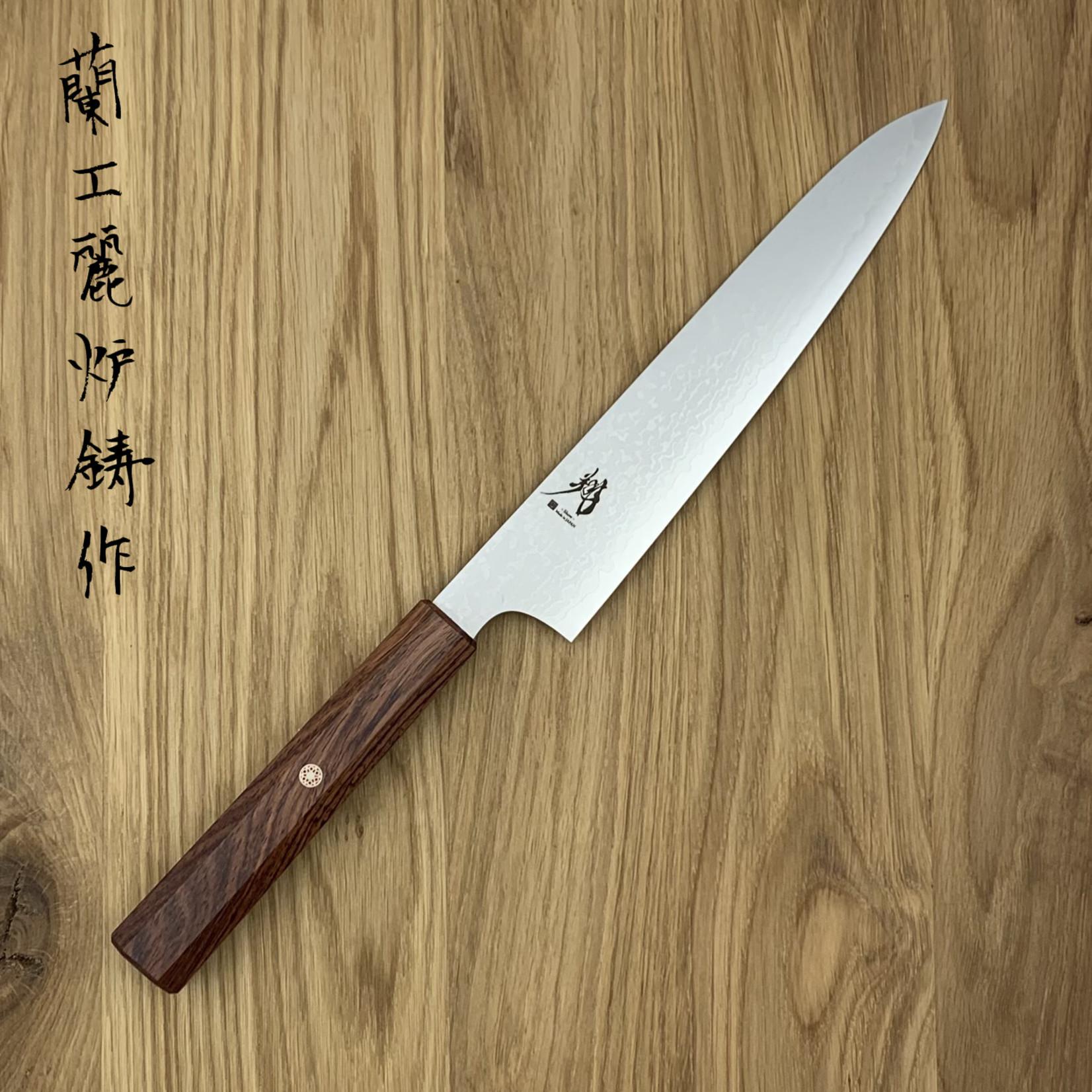 NENOHI Show Damascus Slicer 195mm