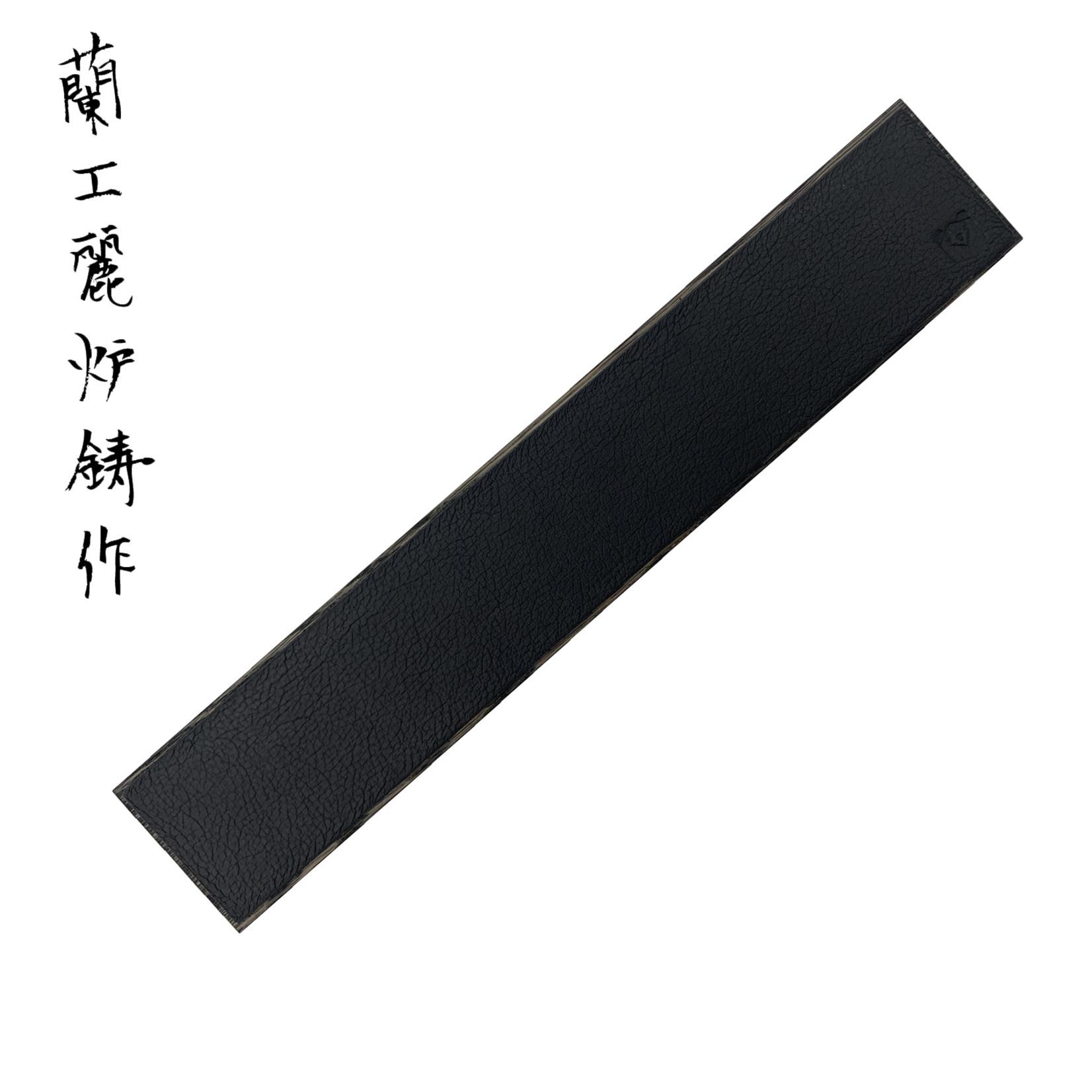 PIOTR THE BEAR knifemagnet leather 400 mm black