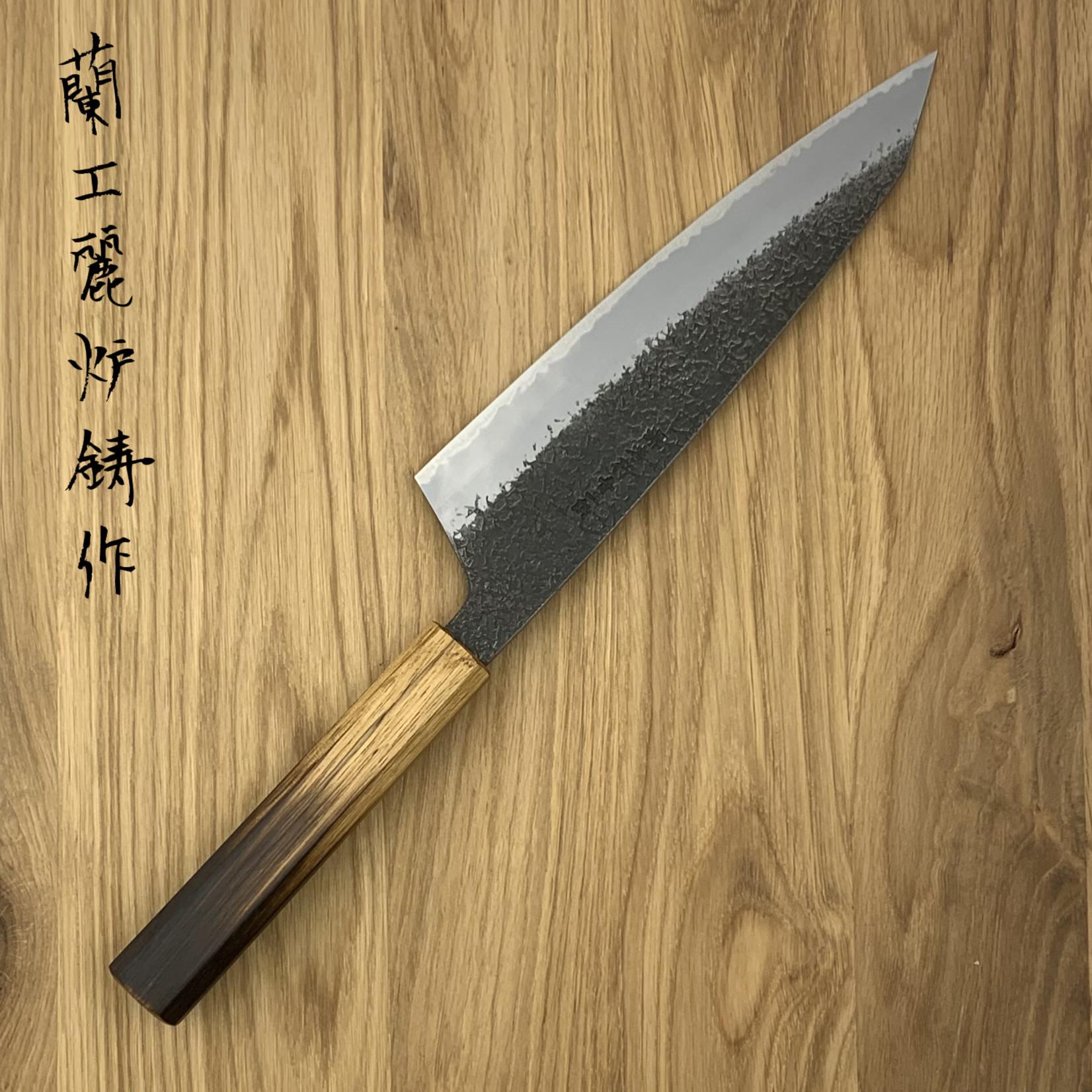 SAKAI TAKAYUKI Homura Guren Blue #2 Gyuto 225mm 01187