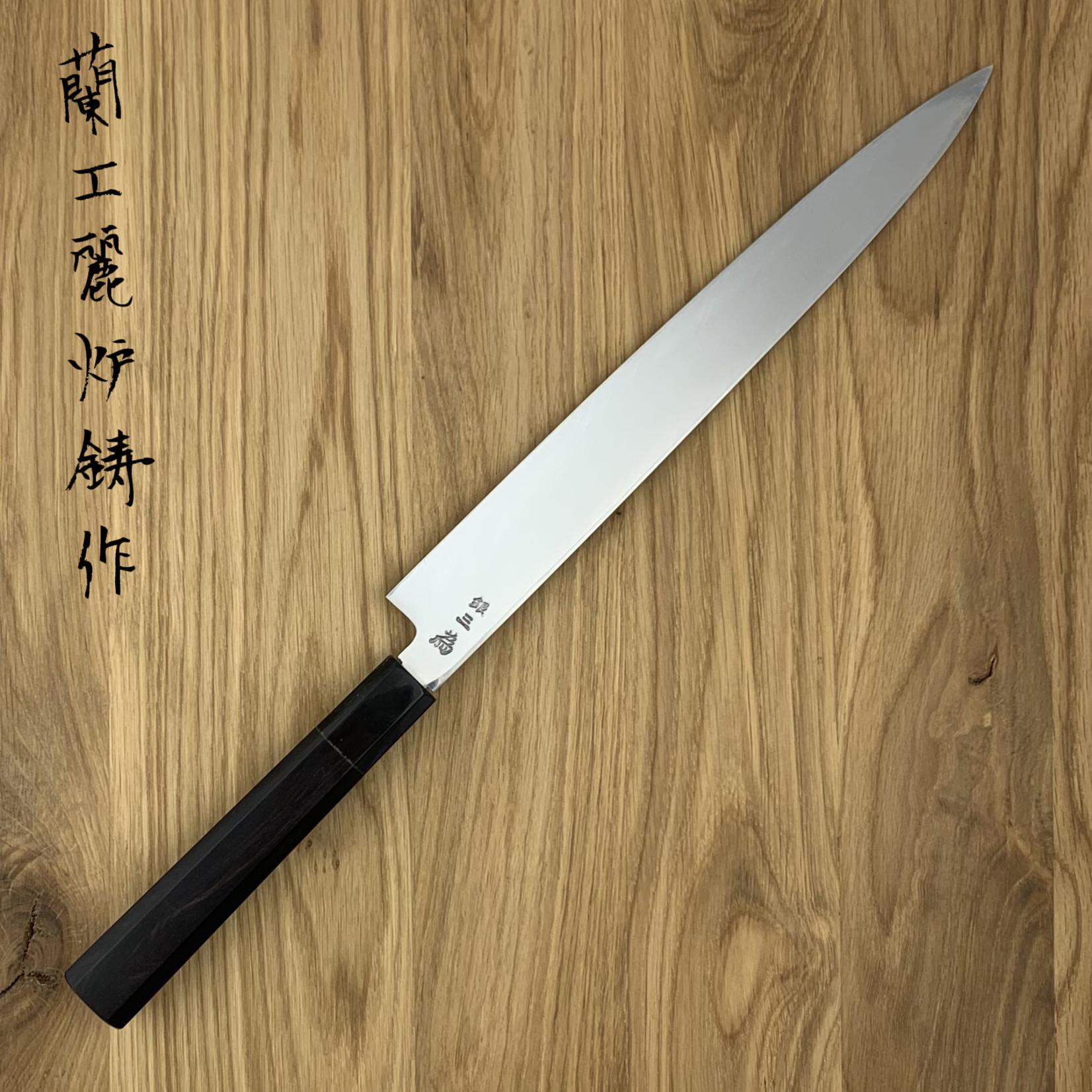 SAKAI TAKAYUKI Ginsankou Silver #3 Yanagiba 300 mm 04232