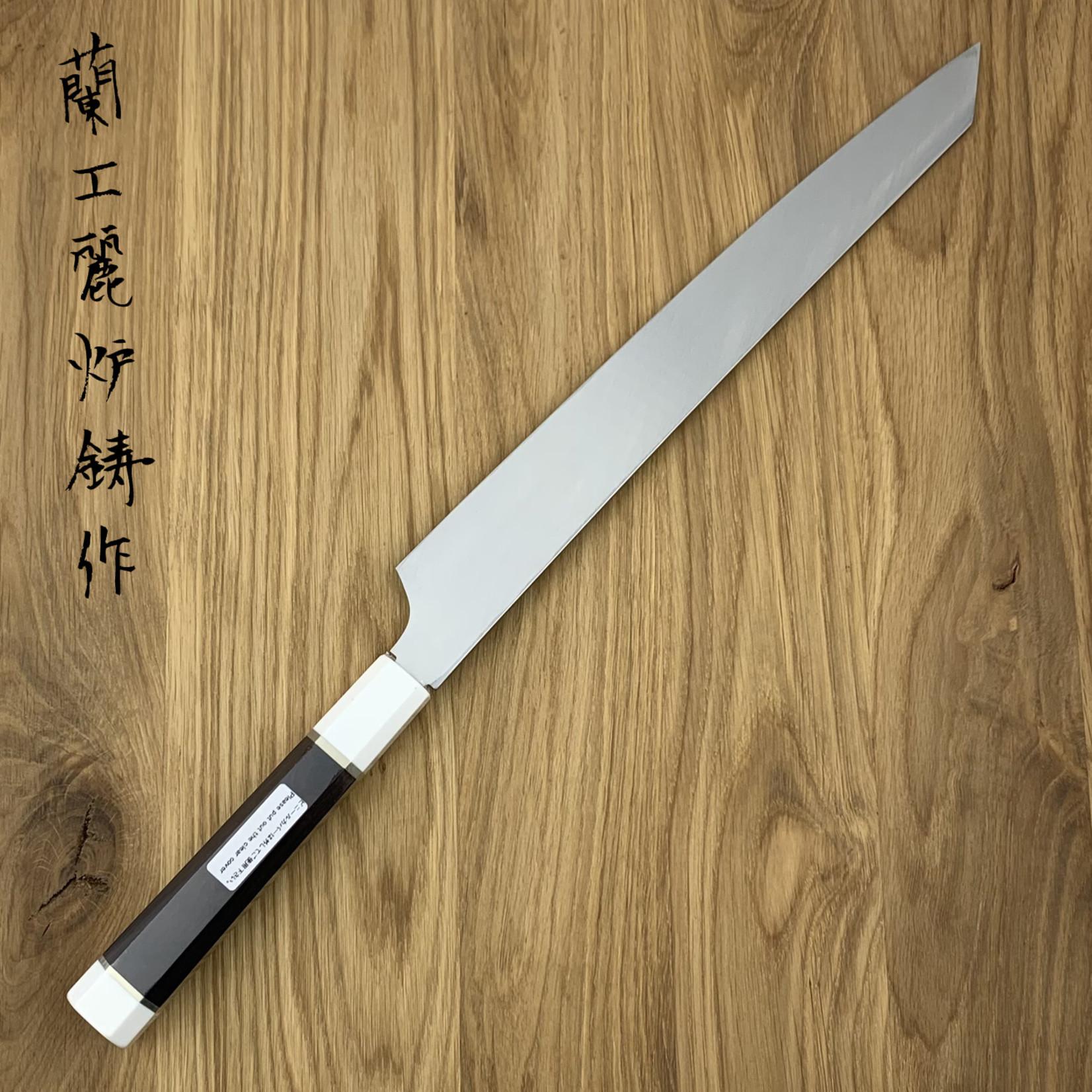 SAKAI TAKAYUKI Ginryu Kengata Yanagiba 300 mm 02261