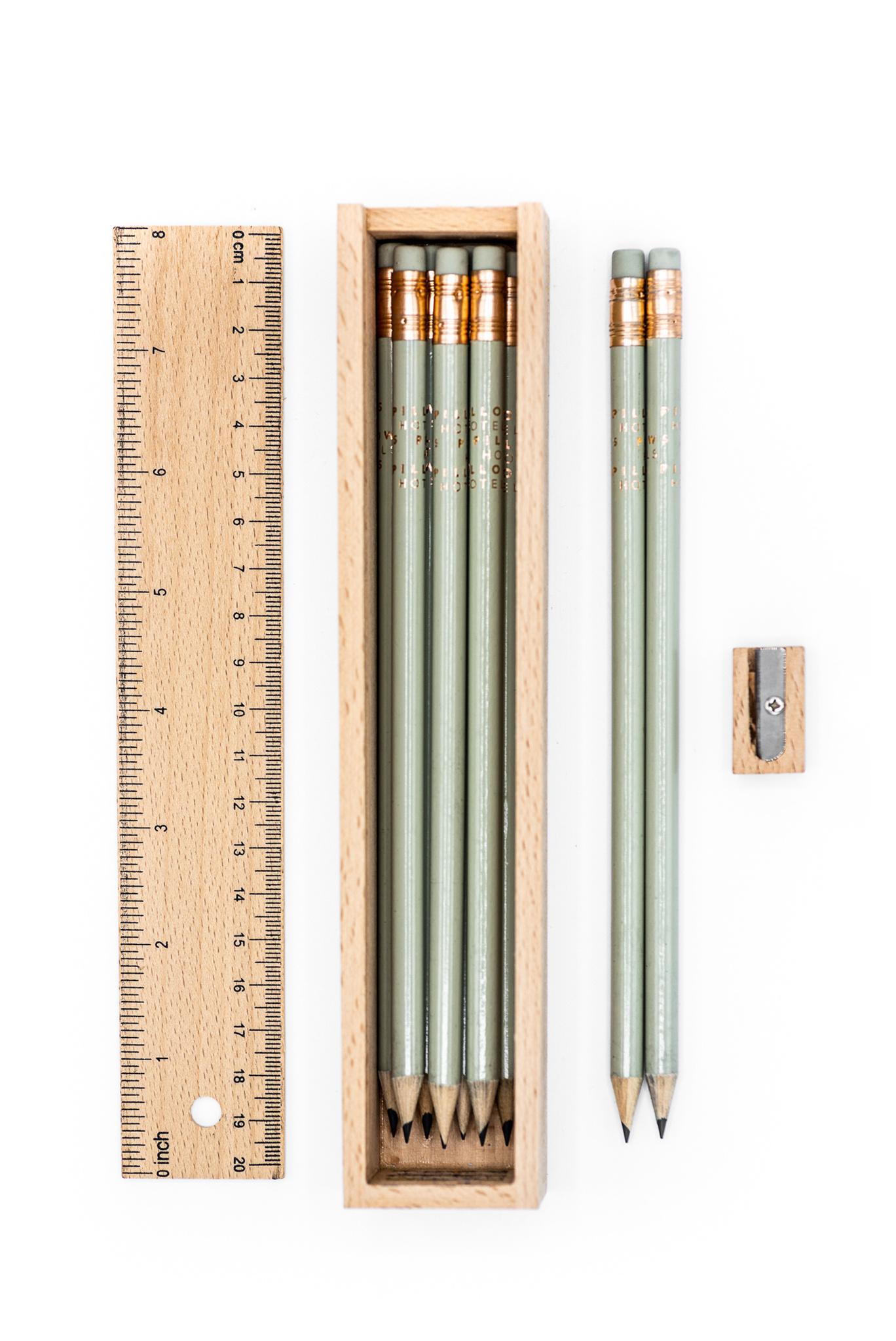 Pencil and pencil box