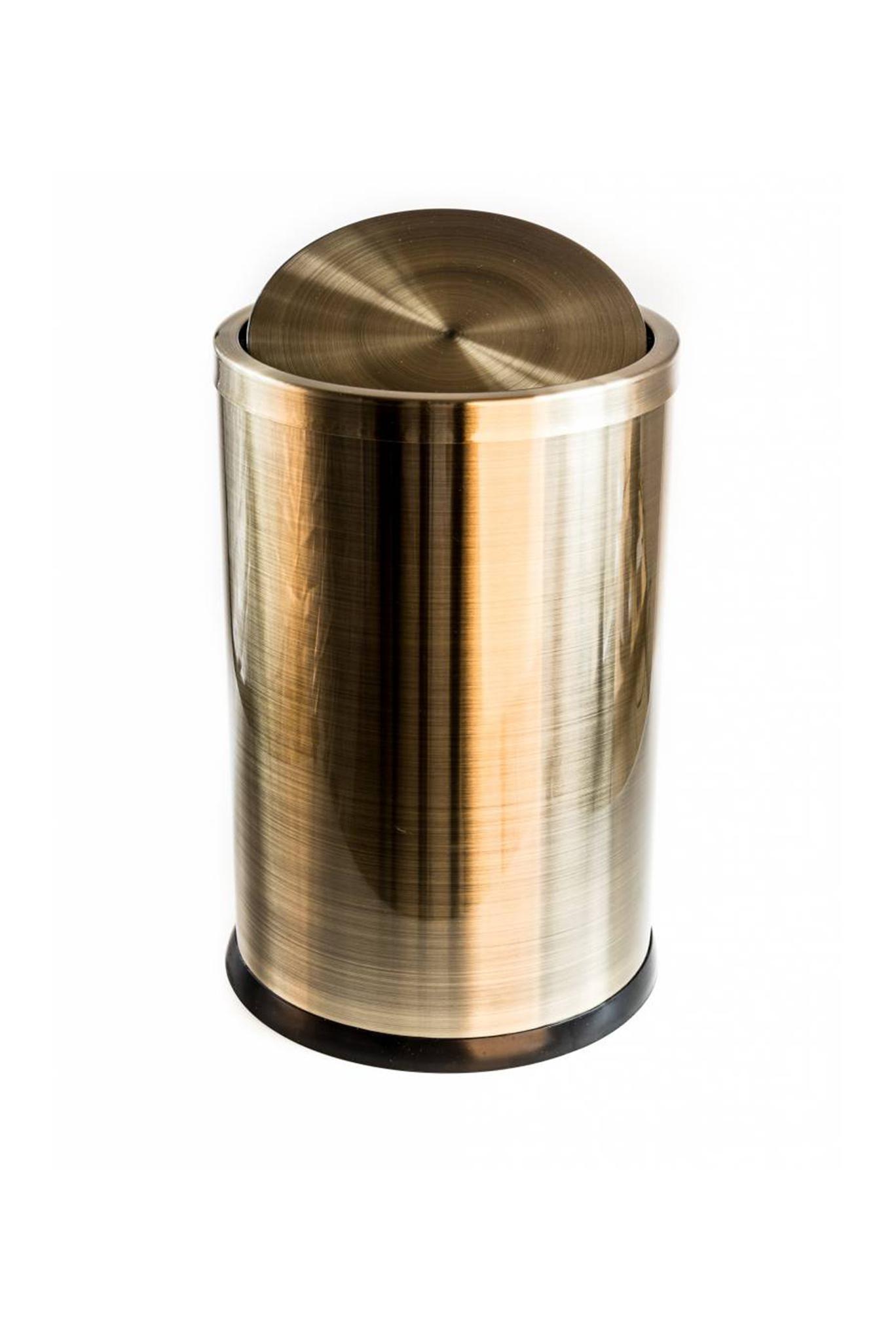Pillows copper waste bin (6L)