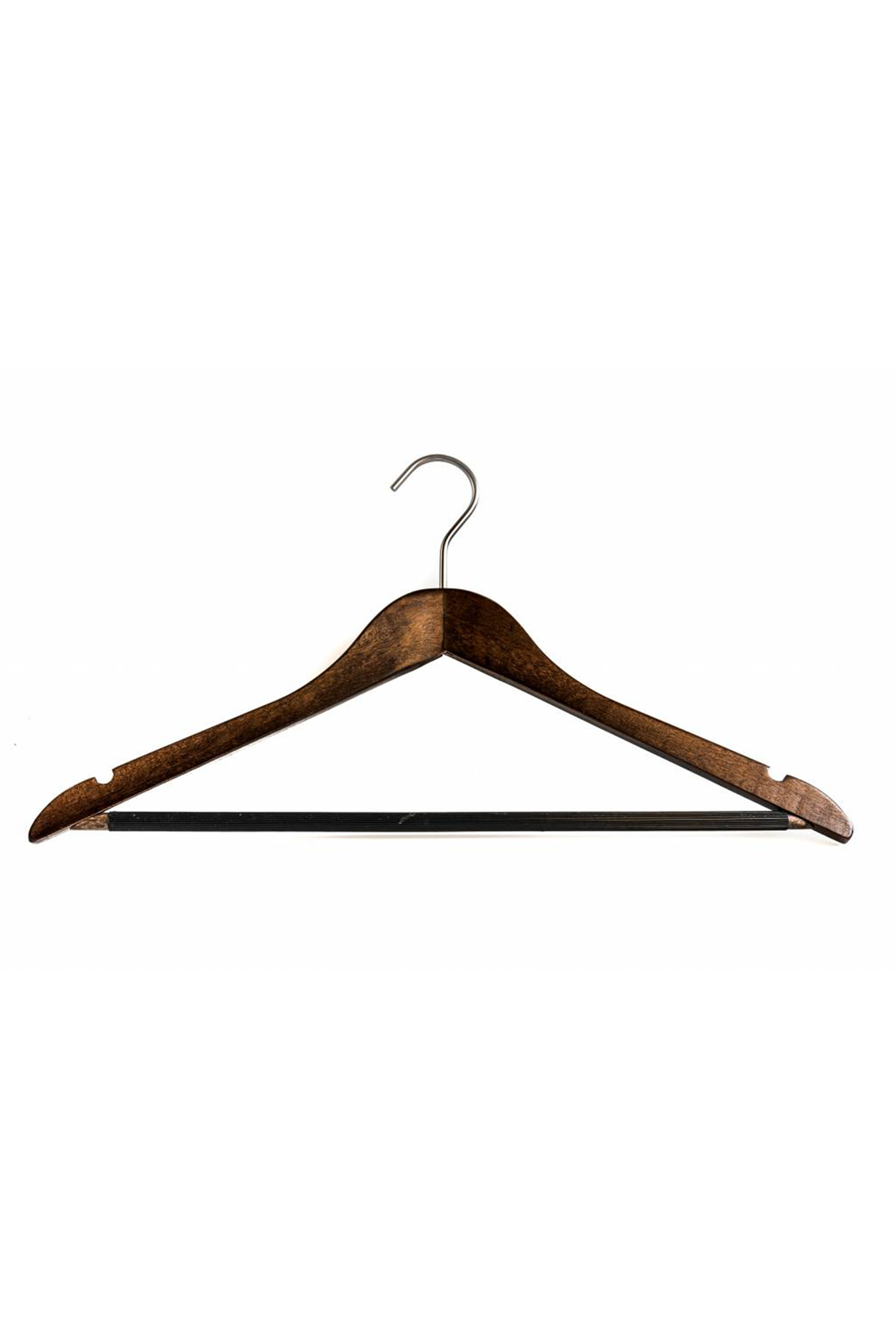 Pillows wooden hanger with trouser rack (set of 4)