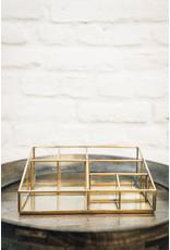 Monograph Brass Desk Organiser