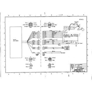 Acewell ACE-2853 Kunstoffgehäuse schwarz