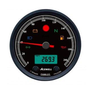 Acewell ACE-CA085 Aluring schwarz matt